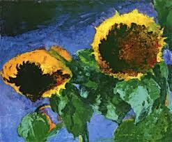 Image result for sunflowers in classic paintings