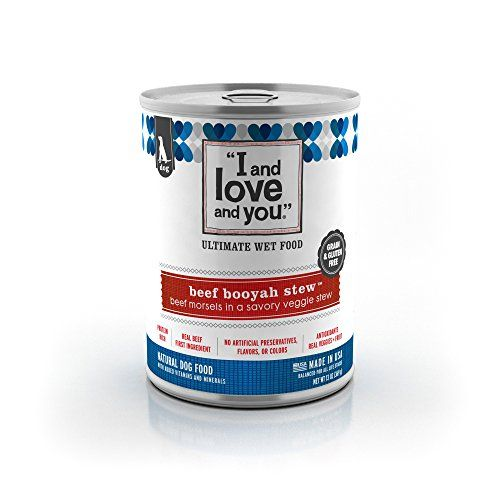 I and Love and You Beef Booyah Stew All Natural Canned Dog Food 13Ounce 12Pack ** Read more reviews of the product by visiting the link on the image.