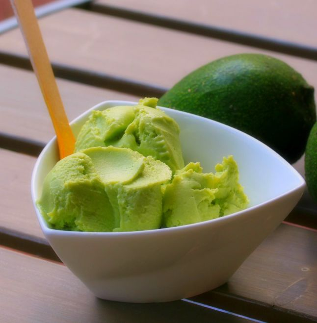 Avocado Coconut Ice cream dairy free