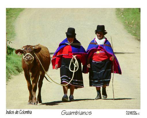 Indios de Colombia. Indios Guambianos de Iván Reaclde Correa