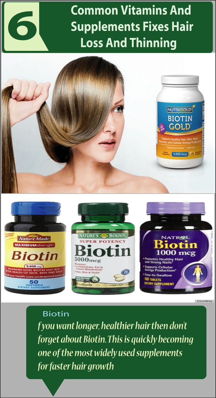 Hair loss and thinning is a common problem nowadays affecting both man and women. Discover Six Common Vitamins And Supplements Fixes Hair Loss And Thinning,