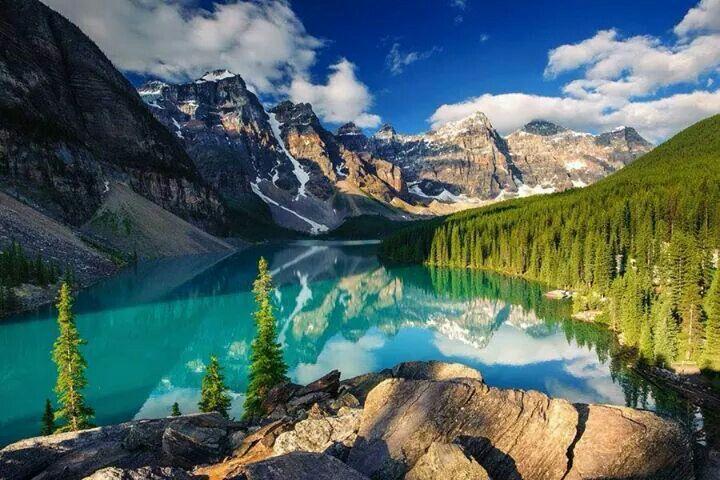 Las 25 mejores ideas sobre lago moraine en pinterest - Fotos tale mporaines ...