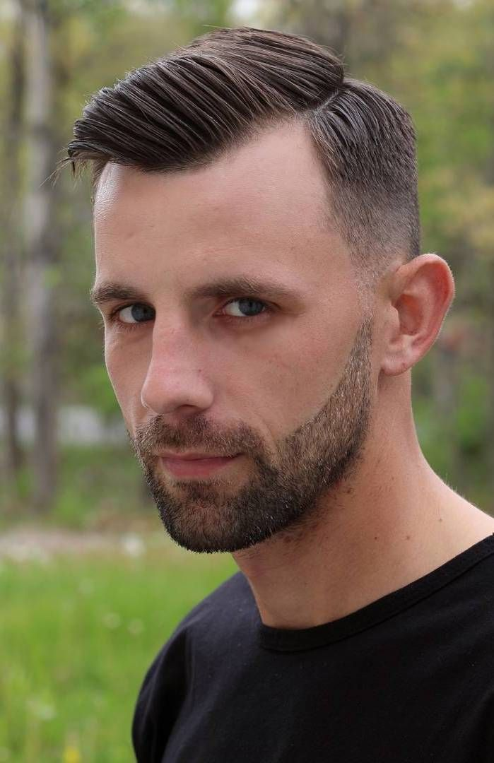 Buzz Cut Haircuts For Men With Receding Hairlines