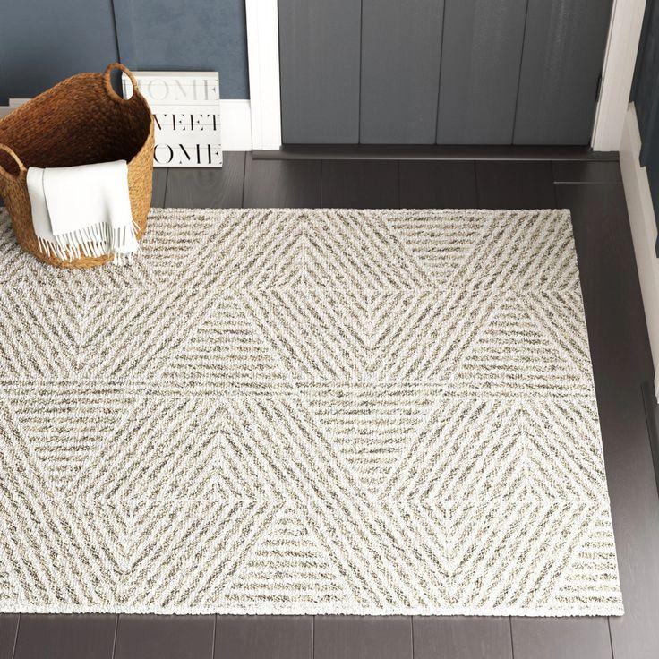 Brylee Gray Area Rug In 2021 Modern, Wayfair Indoor Outdoor Rugs