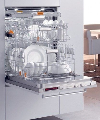 Raised dishwasher - I'm putting one in my new kitchen since I have back problems.  Putting it toward the end of a counter run so it doesn't break up the counter.