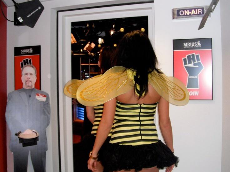 Beezid Honeys go to Howard Stern