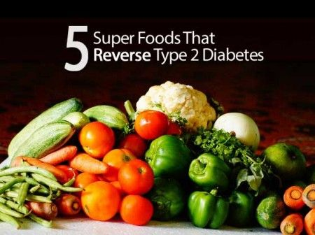 5 Super Foods That Reverse Type 2 Diabetes