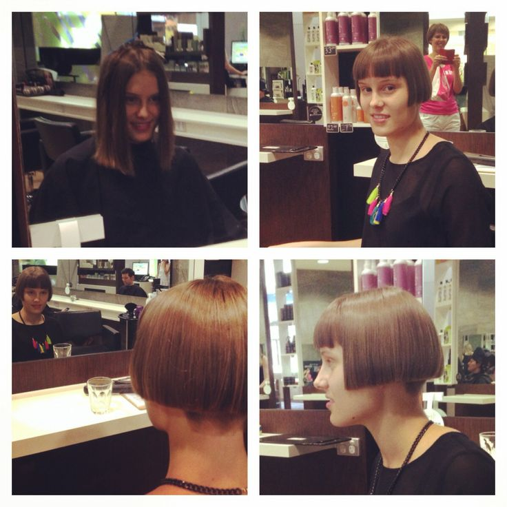 Sharp Short Bob