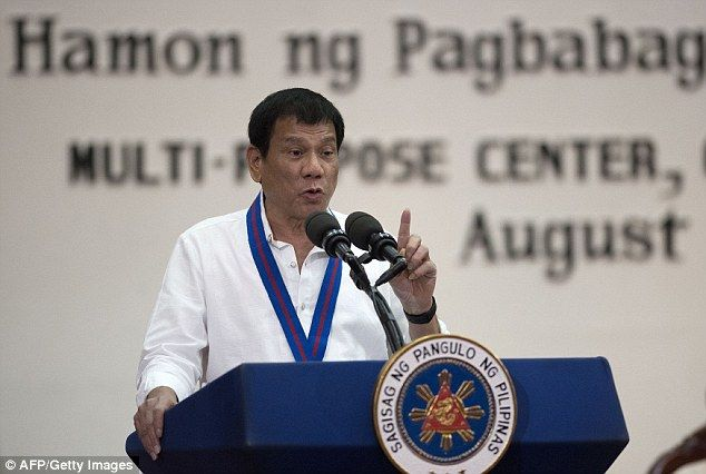 Rodrigo Duterte tells police to execute SON if criminal - https://buzznews.co.uk/rodrigo-duterte-tells-police-to-execute-son-if-criminal -