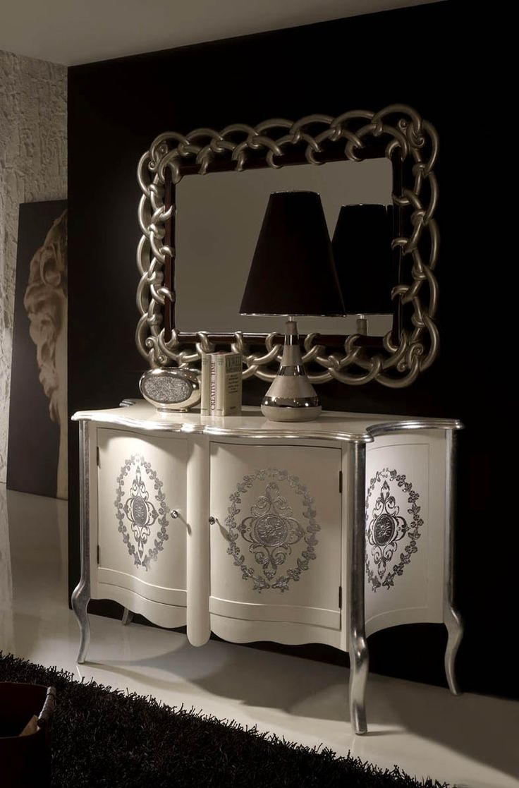 klassischer spiegel lara dekoration beltr n ihr online. Black Bedroom Furniture Sets. Home Design Ideas