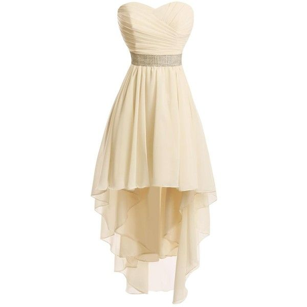 high low dresses polyvore - photo #33