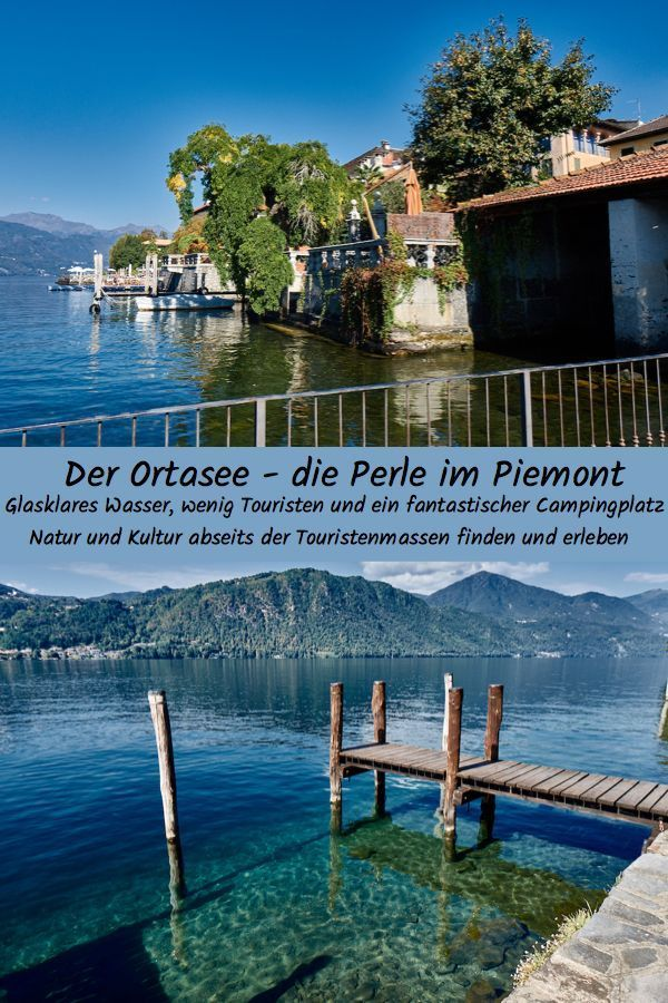 Lac d'Orta, perle du Piémont   – Stellplätze Campingplätze Freistehen