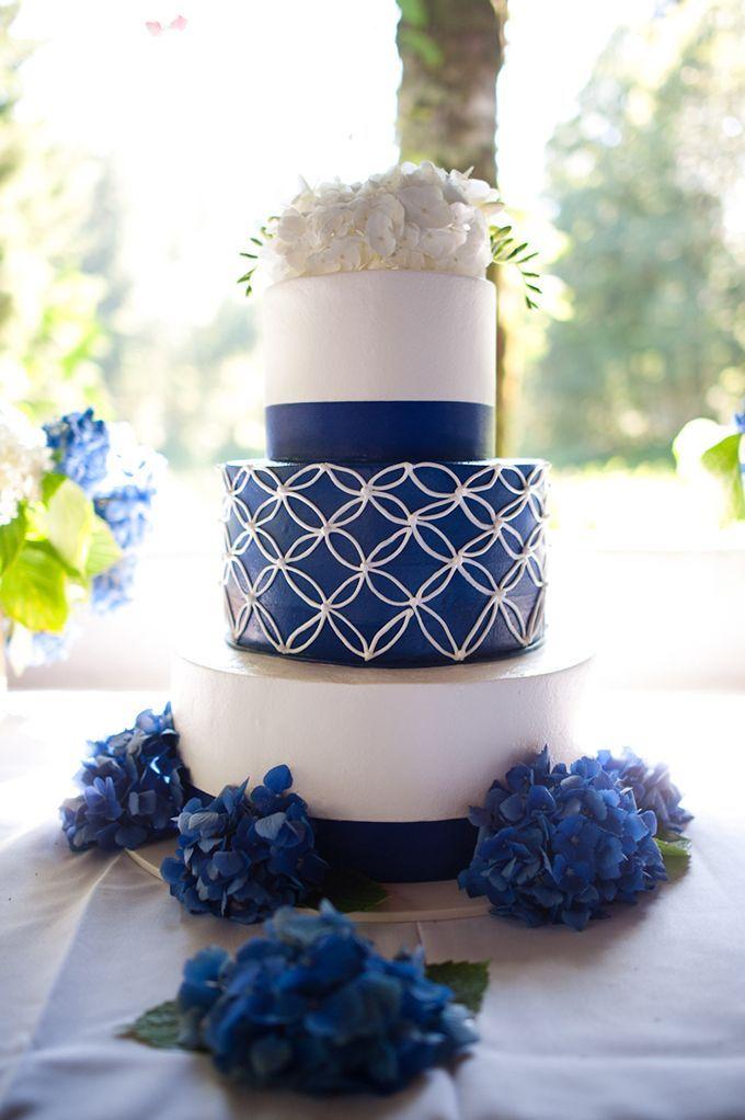 Dazzling Blue Wedding #wedding #bluewedding