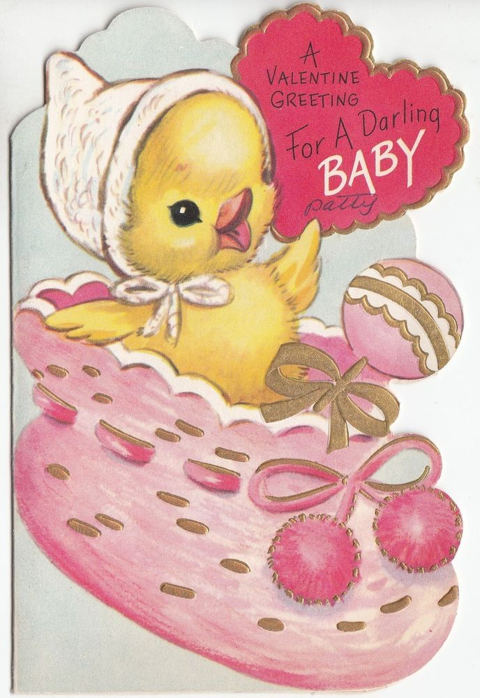 217 best Vintage valentine Cards  Birds images on Pinterest