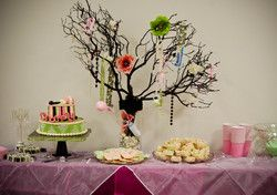 Office Baby Shower  Baby Shower/Sip & See - Damask Chic