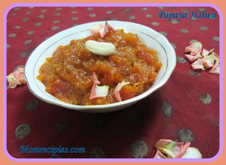 Healthy Papaya Halwa