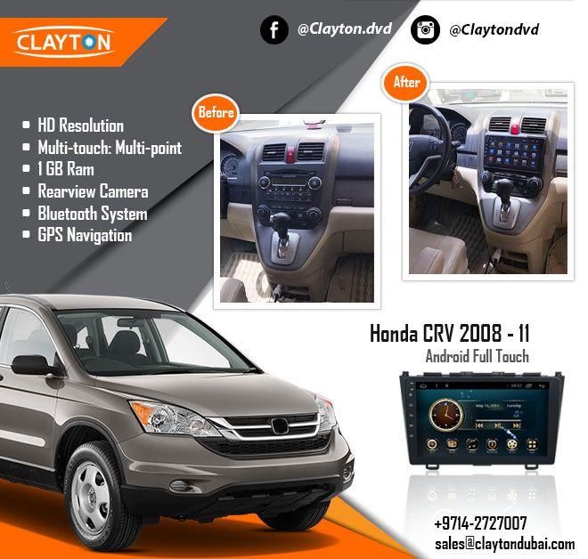Honda CRV 2008 - 11 Android Full Touch https://www.claytondubai.com/honda-crv-2008-11-android-ful…/ #honda #crv #before #after #navigation #gps #cargps #cardvd #carnavi #dubai #clayton #car #dvds #uae