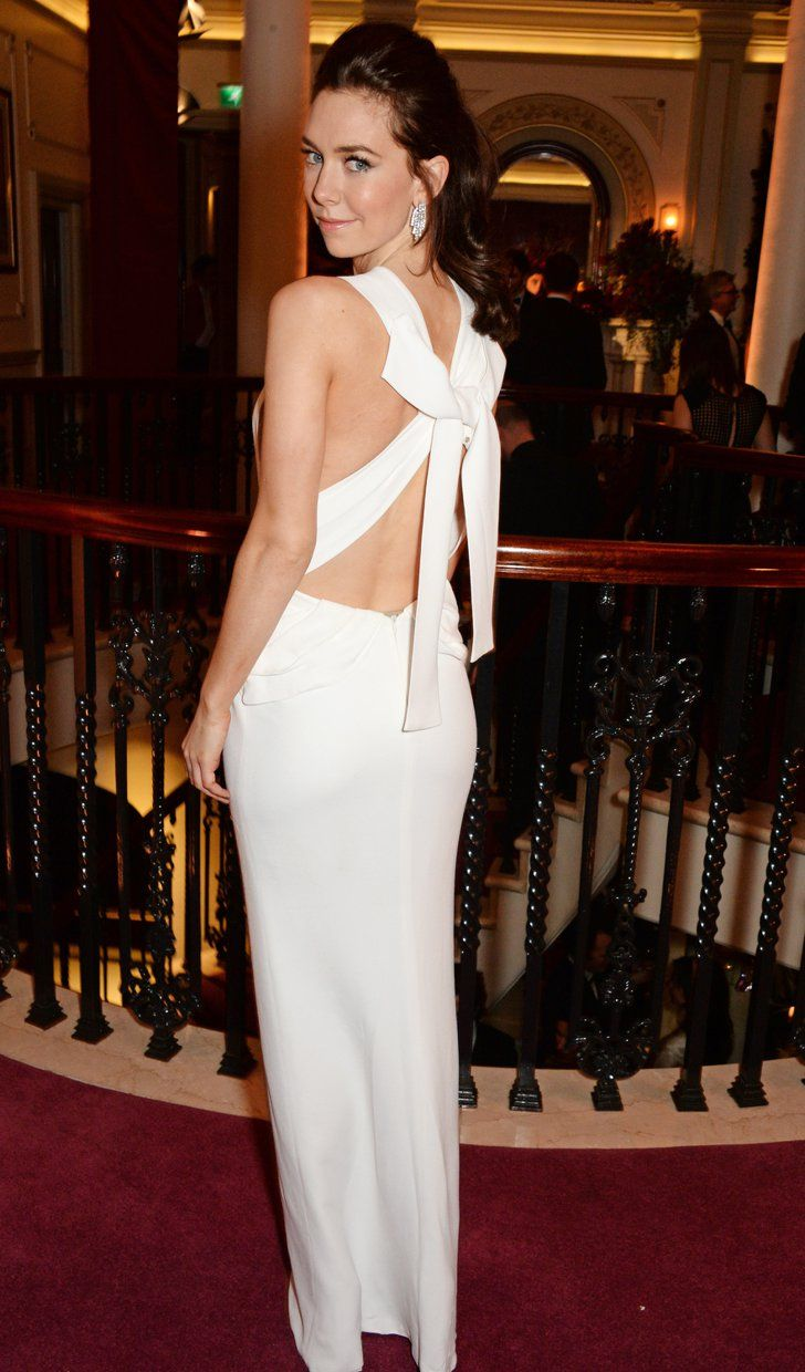 Pin for Later: Stars Celebrated the Best of British at the Evening Standard Theatre Awards Vanessa Kirby in Burberry