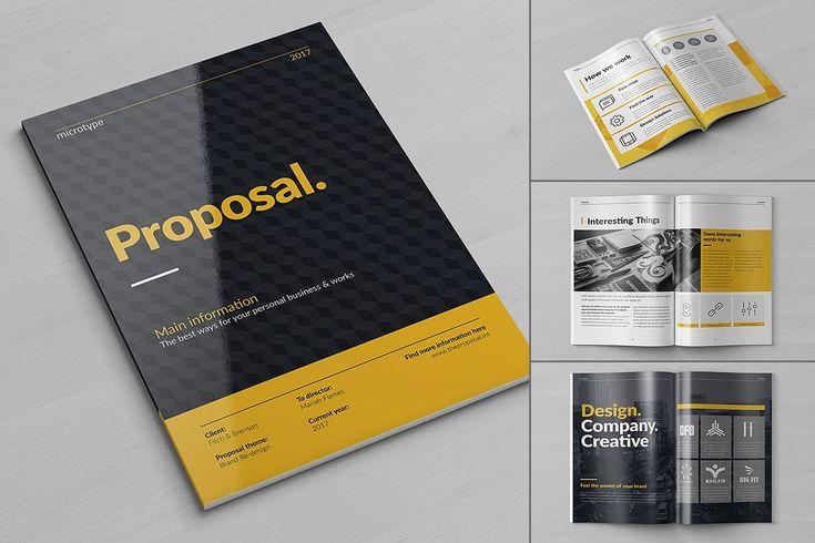 20 Creative Brochures - Mega Bundle by Kovalski on @creativemarket