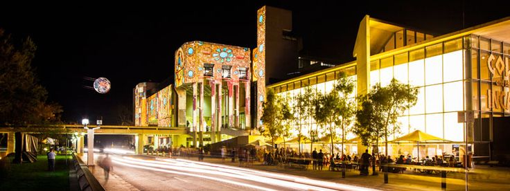 See the National Gallery of Australia during enlighten-2015.  Lots going on! http://enlightencanberra.com.au/venues/national-gallery-of-australia/