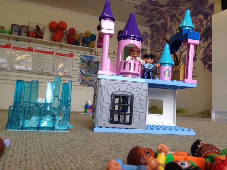 Frozen Castles in lego and duplo