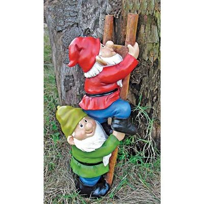 Up The Ladder   Climbing Garden Gnome Statue. When You Could Use A Little  Gnome