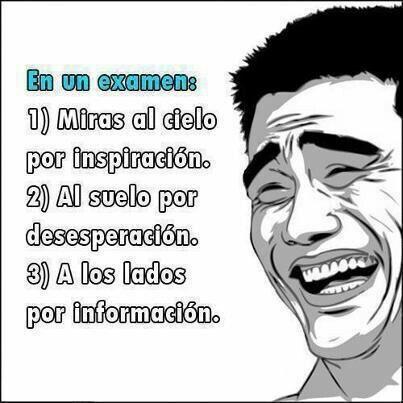 ¡Exámenes!  ¡Vamos que se puede! #examenes #umayor  #semanadelterror