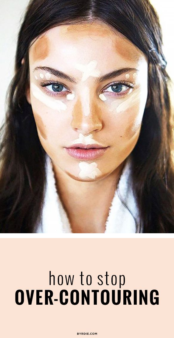 Why one makeup artist thinks you should stop over-contouring.