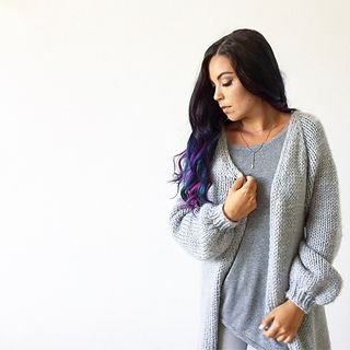 Ravelry: Cozy Cloud Cardigan pattern by Life Is Cozy