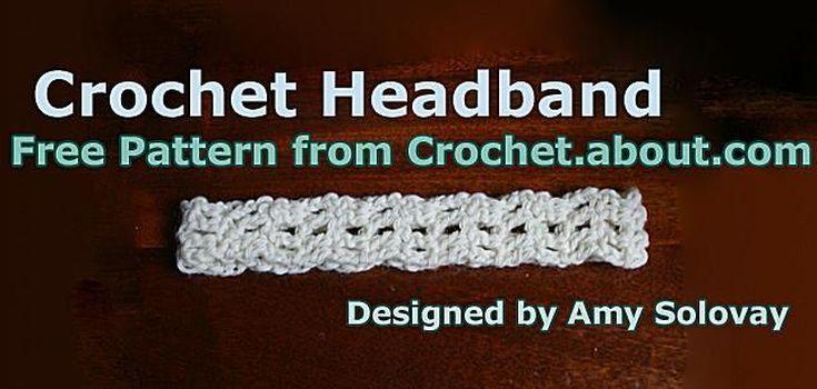 Easy Crochet Headband Free Pattern