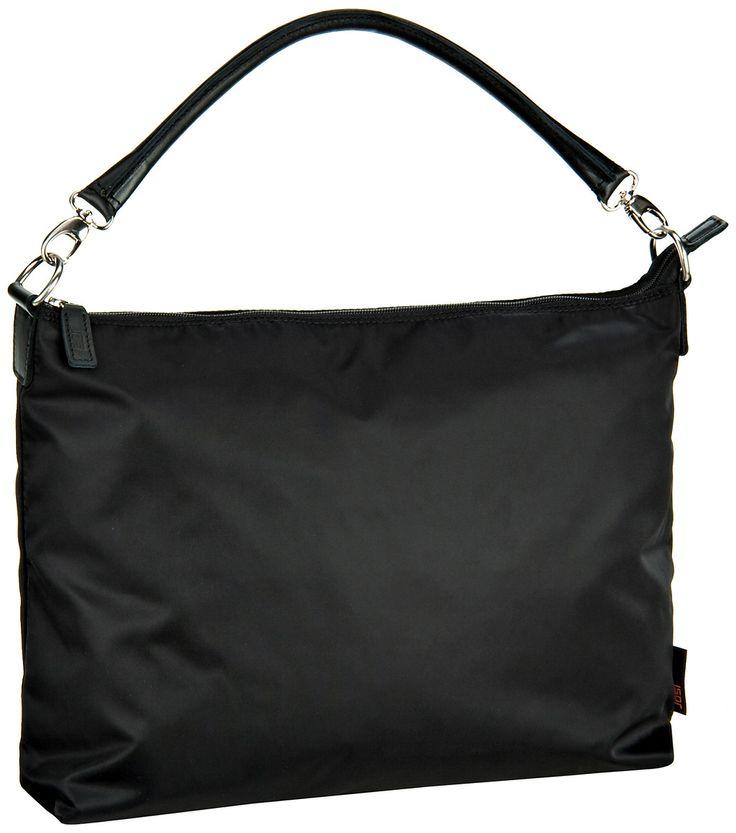 Jost – Tofino Reißverschluss-Handtasche M Schwarz - Jost Tofino Reißverschluss-Handtasche M Schwarz
