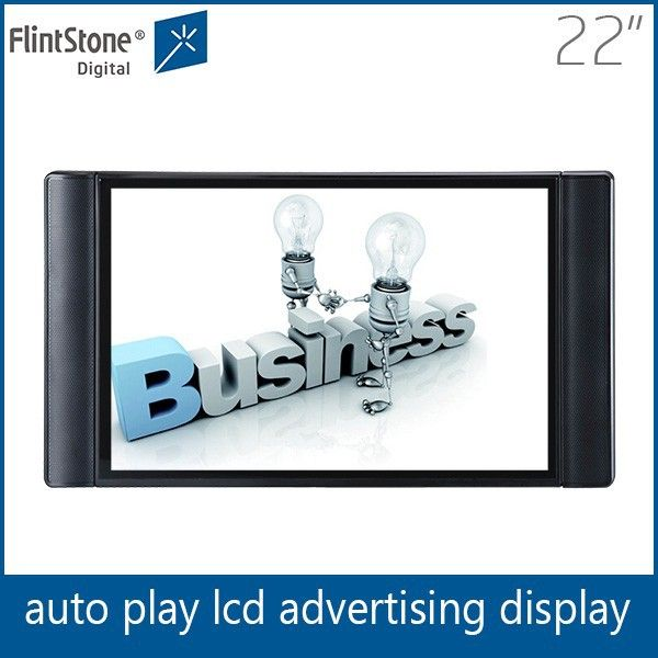 Flintstone 22 inch mini usb audio player video wall processor photo frame portable tv