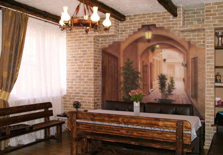 74 best images about trompe l 39 oeil 3d murals on pinterest french door - Trompe l oeil toilette ...