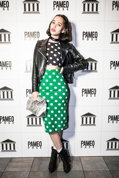 fyeahkikomizuhara: at the pameo pose opening party. 13.03.15