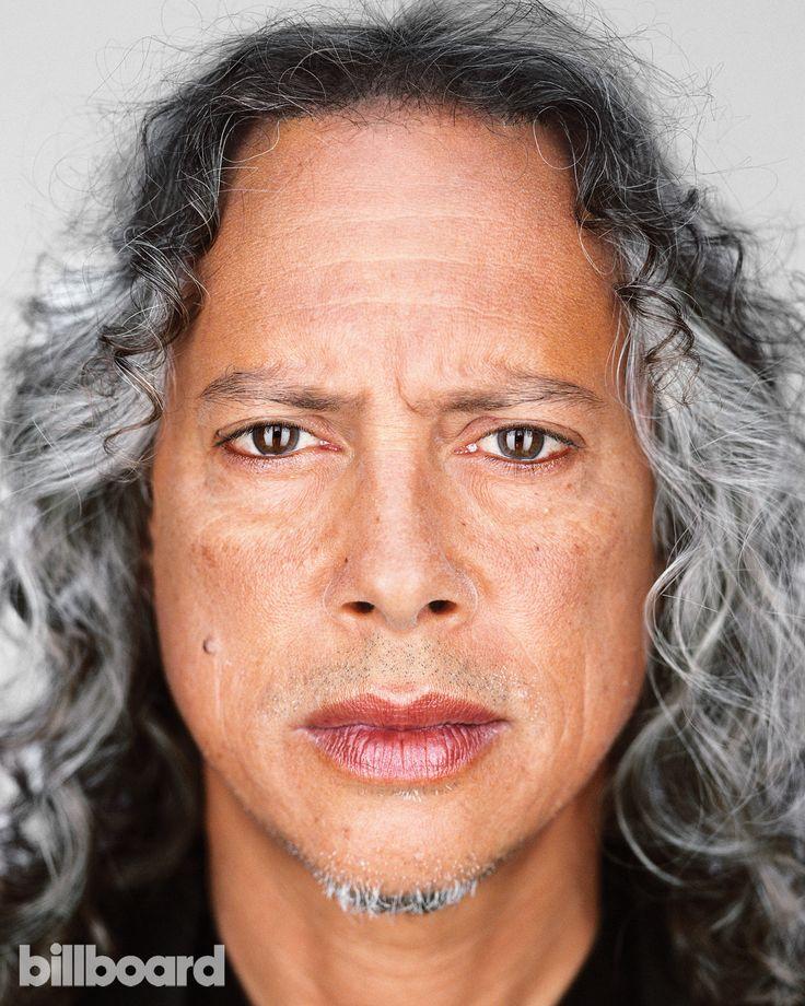 Kirk Hammett photographed Oct. 21 in San Rafael, Calif.