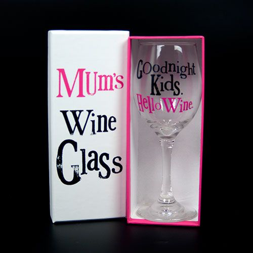 Mothers Day idea? http://www.reallygood.uk.com/bright-side-glass-mums-wine-glass-p-4252.html