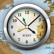 Horloge mondiale- The World Clock