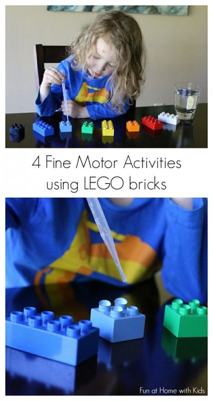 Boost fine motor skills with these #FUN activities!