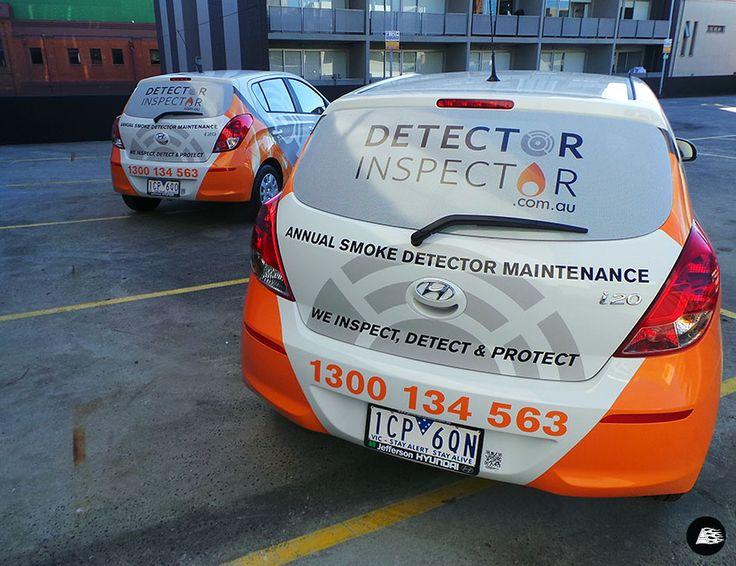 Fleet Graphics for Detector Inspector on 8 Hyundai i20s