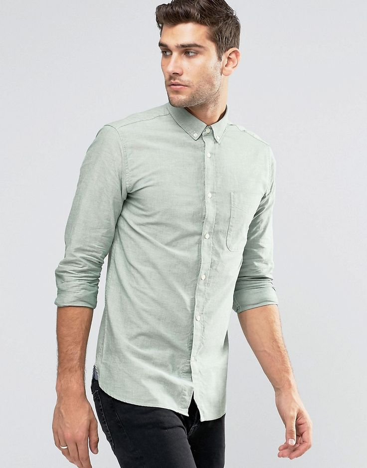Image 1 ofJack & Jones Premium Oxford Shirt