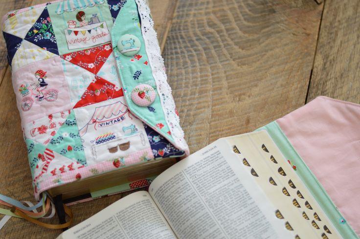 Book Of Mormon Fabric Cover Tutorial : Scripture cover tutorial riley blake designs vintage