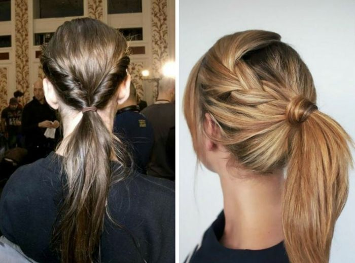 Ladies hair styling for more pep in everyday life