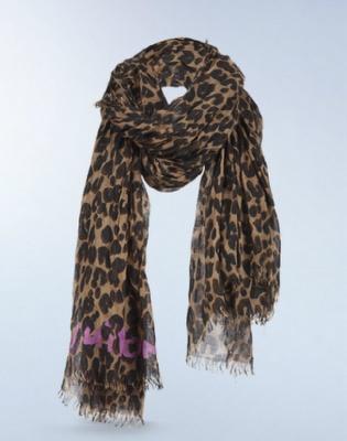 Oversized Merino Wool Scarf - Vanishing Leopard by VIDA VIDA SrOS5i