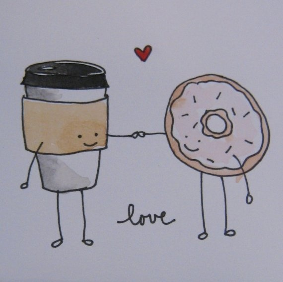 coffee and doughnuts :)