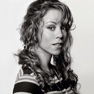 Mariah Carey Messy Curly Pony tail <3