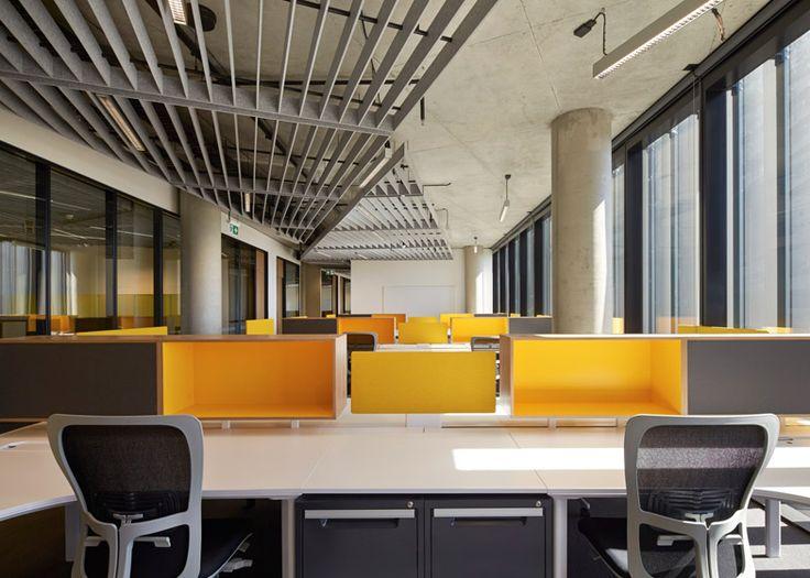 Woods Bagot Adds Elevated Golden Tower To University Studio InteriorInterior DesignOffice SpacesOffice IdeasMelbourneArchitectural