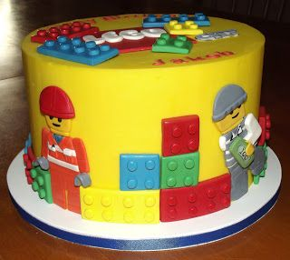 Suzys Sweet Shoppe: Lego City Cake