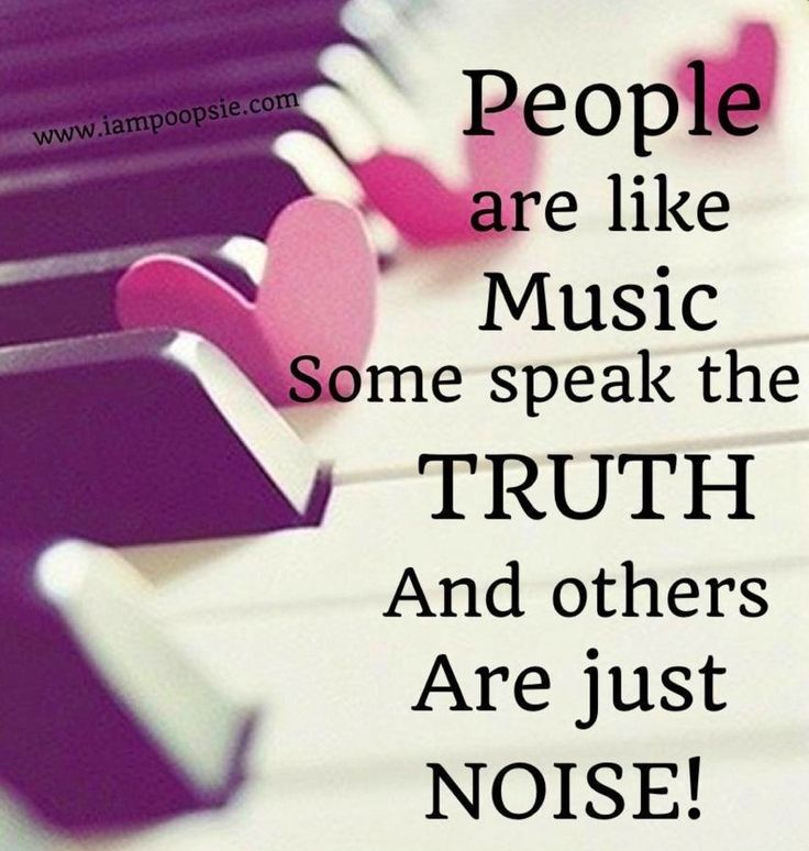 People are like music quote via www.IamPoopsie.com                              …