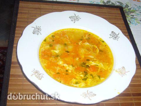 Fotorecept: Zajačikova polievka (mrkvová)