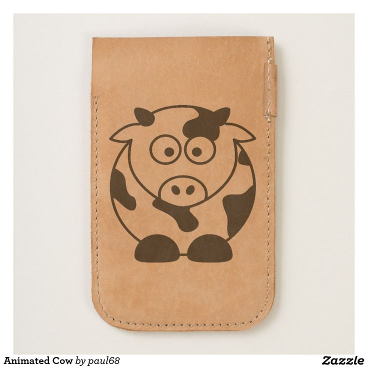 Animated Cow iPhone 6/6S Case